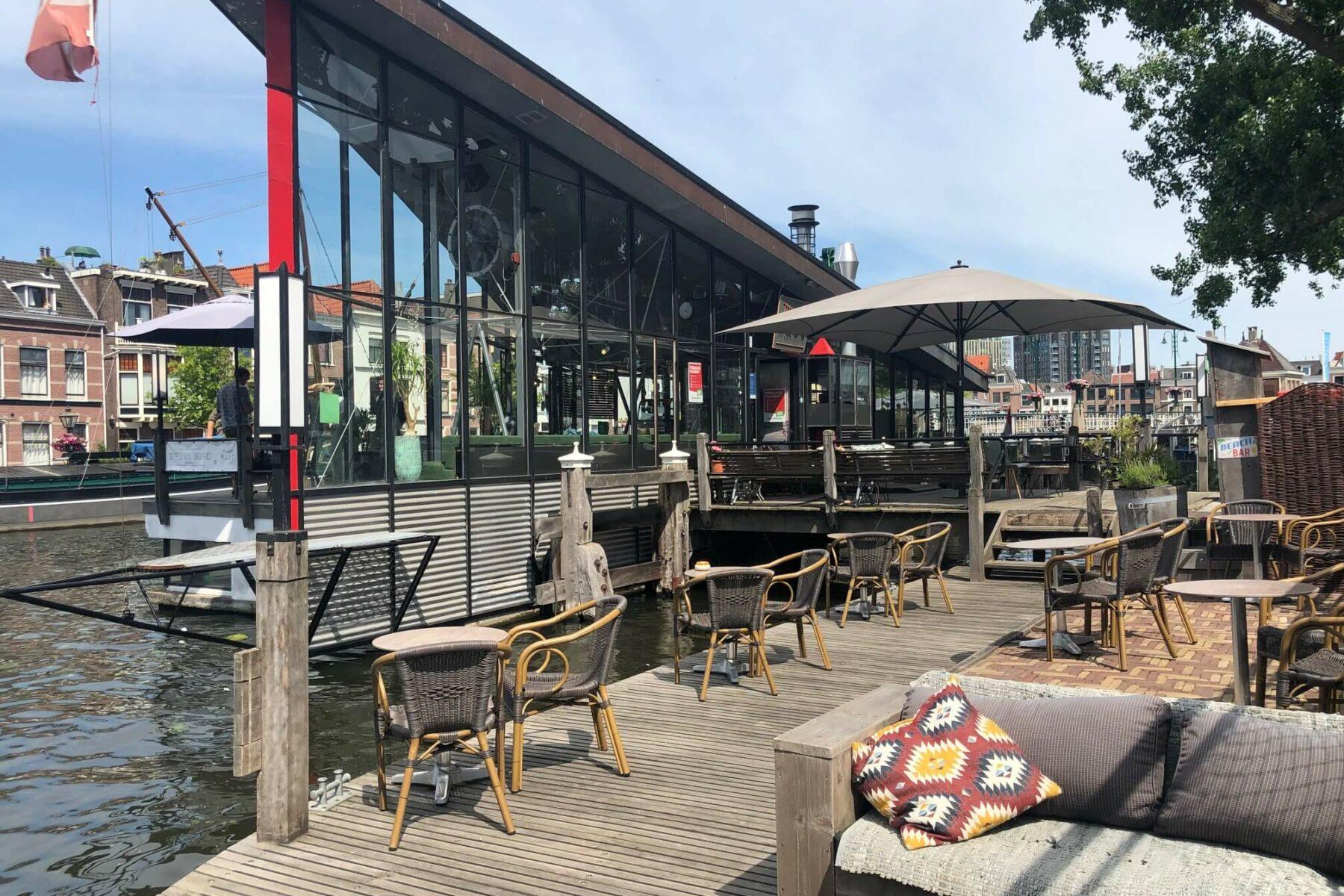 Terras in de zon @ Vlot Grand Café Leiden